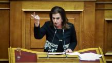 Η βουλευτής του ΣΥΡΙΖΑ Θεοδώρα Μεγαλοοικονόμου