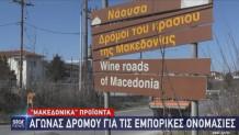 Νάουσα Δρόμοι του κρασιού της Μακεδονίας