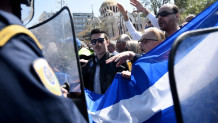 επεισόδια στη μαθητική παρέλαση στη Θεσσαλονίκη