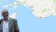 Τσιρώνης και χάρτης με το Καστελόριζο