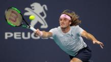Ο Στέφανος Τσιτσιπάς στο Miami Open