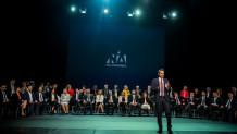 Ο Κυριάκος Μητσοτάκης σε εκδήλωση της ΝΔ για τους υποψήφιους ευρωβουλευτές