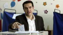 O Αλέξης Τσίπρας ψηφίζει στις εκλογές