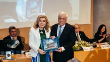 Η Μαριάννα Β. Βαρδινογιάννη και ο  Προκόπης Παυλόπουλος