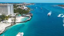 Μαρίνα με γιοτ στις Μπαχάμες