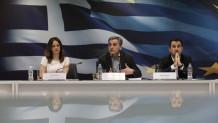 συνέντευξη τύπου των υπουργών Οικονομικών, Εργασίας και Εσωτερικών