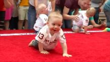αγώνας δρόμου για μωρά