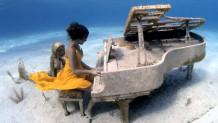 έπαιξε πιάνο στον βυθό της θάλασσας
