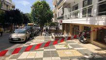 To διαμέρισμα όπου βρέθηκε νεκρή 63χρονη στην Καλαμαριά