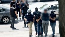 Στην Εισαγγελία Θεσσαλονίκης οι συλληφθέντες για τη ληστεία στο ΑΧΕΠΑ