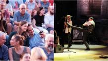 Ο Κυριάκος Μητσοτάκης και η κόρη του, Δάφνη, στη συναυλία των Jethro Tull