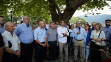 Επίσκεψη Μητσοτάκη στο Μέτσοβο