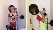 τετράχρονος κάνει καριέρα ράπερ