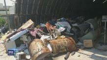 Σκουπίδια στο Κρατικό Νίκαιας