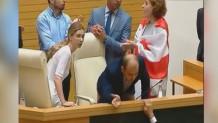εισβολή στη Βουλή της Γεωργίας