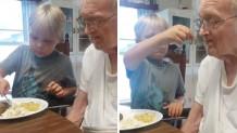 εξαχρονος παππους αλτσχαιμερ