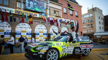 Abarth 124 rally νίκη ERC2