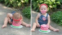 μωρό-τούρτα