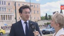Ο Ειδικός Απεσταλμένος του Γκουαϊδό στην Ελλάδα