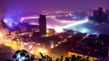 Πόλη  Liuzhou στην Κίνα
