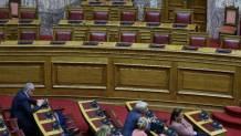 Βουλή άδεια έδρανα