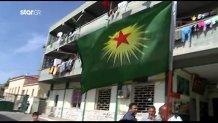 Κούρδοι στον καταυλισμό Λαυρίου