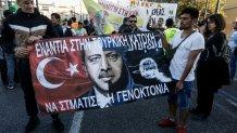 Πορεία Στο Κέντρο Της Αθήνας Έκαναν Οι Κούρδοι