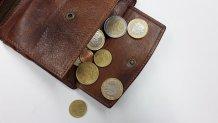 Πορτοφόλι και κέρματα