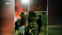 φωτιά στο χοτ σποτ Σάμου