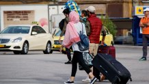 Πρόσφυγες και μετανάστες στο λιμάνι