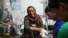 Γυναίκα από τη Συρία κλαίει