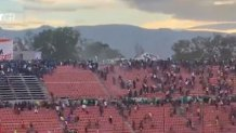 συγκρούσεις οπαδών σε αγώνα στο Μεξικό