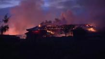 Το Κάστρο Του Σούρι στις φλόγες