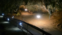 Η σπηλιά στην Ταϊλάνδη όπου είχαν εγκλωβιστεί τα 12 αγόρια