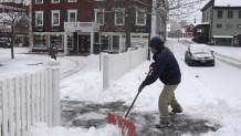 χιόνια στη Βρετανία