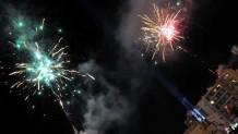 πυροτεχνήματα στο πατρινό καρναβάλι