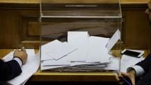 ψηφοφορία Αναθεώρηση Συντάγματος κάλπη