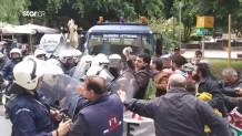 Επεισόδια μεταξύ αστυνομικών και αγροτών
