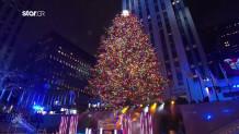 Το χριστουγεννιάτικο δέντρο της Νέας Υόρκης