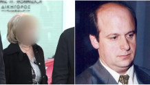 Ο Νίκος Μέντζος και η χήρα κατηγορούμενη
