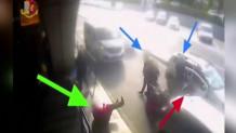 Οδηγός ταξί δίνει μπουνιά σε επιβάτη