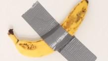 Μπανάνα-έργο τέχνης