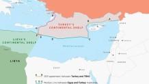 χάρτης Τουρκία Anadolu