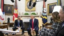 Μητσοτάκης Τραμπ στον Λευκό Οίκο