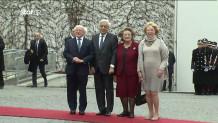 Ο Προκόπης Παυλόπουλος με τον Ιρλανδό ομόλογό του και τις συζύγους τους