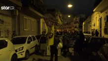 Αντιφασιστική πορεία στα Πετράλωνα