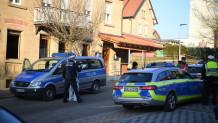 Αστυνομία Γερμανίας  στο σημείο του εγκλήματος