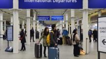 Επιβάτες αεροδρόμιο