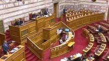 Ένταση στη Βουλή