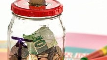 Βάζο με χρήματα
